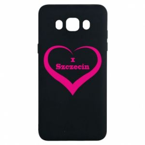 Samsung J7 2016 Case I love Szczecin