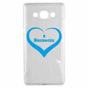 Samsung A5 2015 Case I love Szczecin