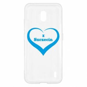 Nokia 2.2 Case I love Szczecin