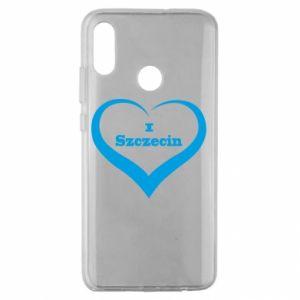 Huawei Honor 10 Lite Case I love Szczecin