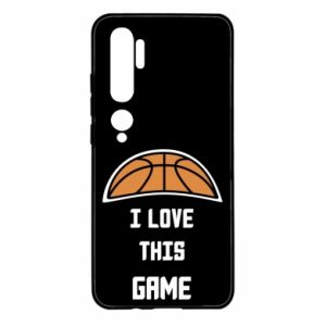 Xiaomi Mi Note 10 Case I Love this game