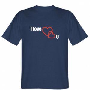 Koszulka I love U
