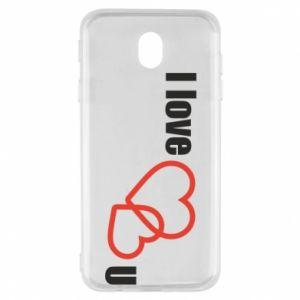 Samsung J7 2017 Case I love U