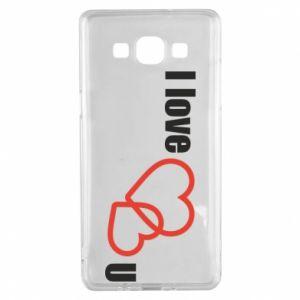 Samsung A5 2015 Case I love U