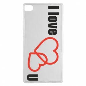 Huawei P8 Case I love U