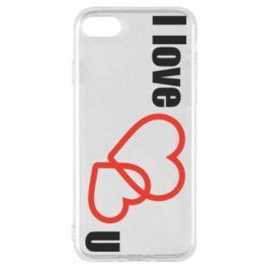 iPhone SE 2020 Case I love U