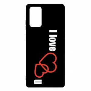 Samsung Note 20 Case I love U