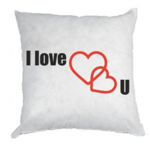 Pillow I love U
