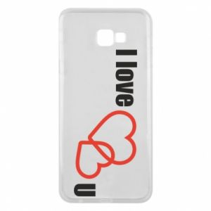 Phone case for Samsung J4 Plus 2018 I love U