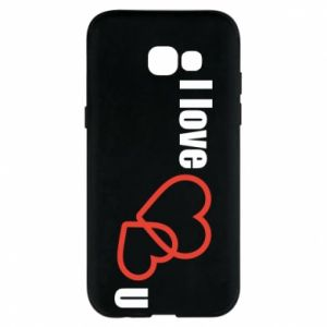 Phone case for Samsung A5 2017 I love U