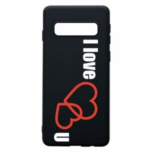 Phone case for Samsung S10 I love U