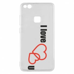 Phone case for Huawei P10 Lite I love U