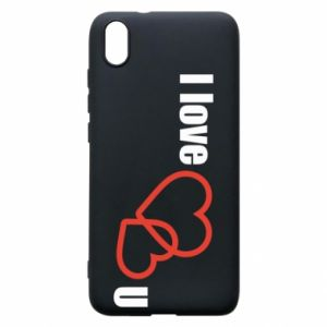 Phone case for Xiaomi Redmi 7A I love U
