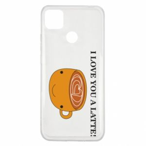 Etui na Xiaomi Redmi 9c I love you a latte