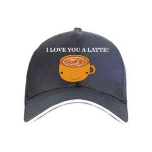 Czapka I love you a latte