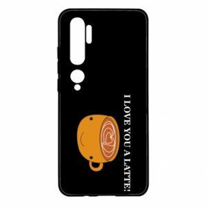 Etui na Xiaomi Mi Note 10 I love you a latte