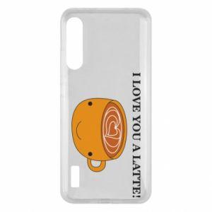 Etui na Xiaomi Mi A3 I love you a latte