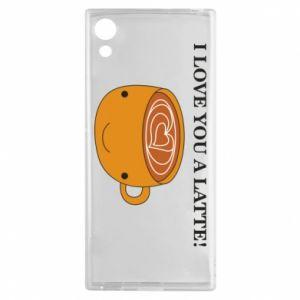 Etui na Sony Xperia XA1 I love you a latte