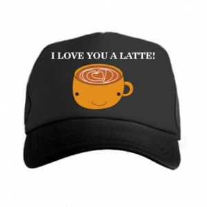 Czapka trucker I love you a latte