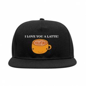 Snapback I love you a latte