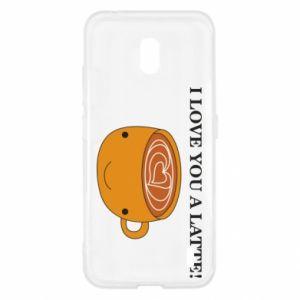 Etui na Nokia 2.2 I love you a latte