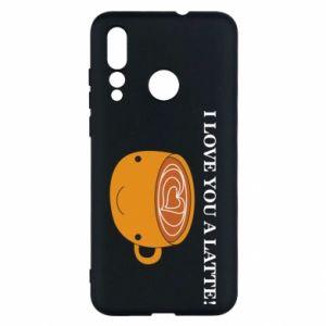Etui na Huawei Nova 4 I love you a latte