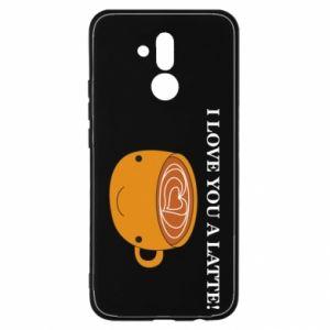 Etui na Huawei Mate 20 Lite I love you a latte