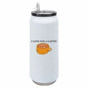 Puszka termiczna I love you a latte