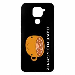 Etui na Xiaomi Redmi Note 9/Redmi 10X I love you a latte