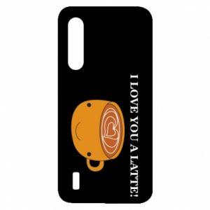 Etui na Xiaomi Mi9 Lite I love you a latte