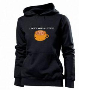 Bluza damska I love you a latte