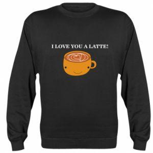Bluza I love you a latte