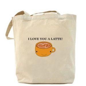 Torba I love you a latte