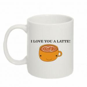 Kubek 330ml I love you a latte