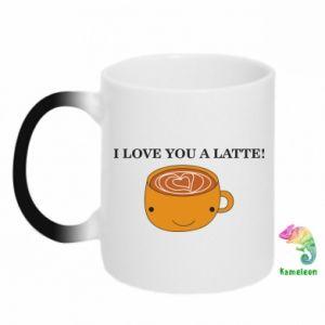 Kubek-magiczny I love you a latte