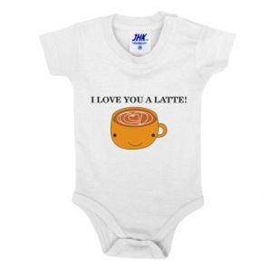 Body dziecięce I love you a latte