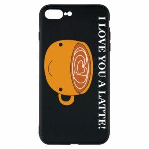 Etui do iPhone 7 Plus I love you a latte