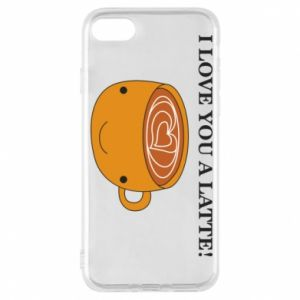 Etui na iPhone 8 I love you a latte