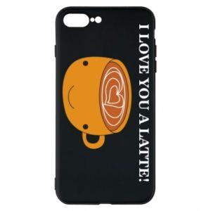 Etui na iPhone 8 Plus I love you a latte