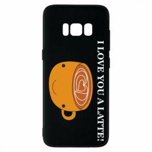 Etui na Samsung S8 I love you a latte