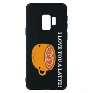 Etui na Samsung S9 I love you a latte