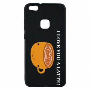 Etui na Huawei P10 Lite I love you a latte