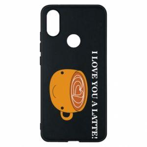 Etui na Xiaomi Mi A2 I love you a latte