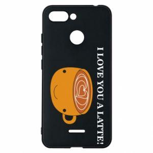 Etui na Xiaomi Redmi 6 I love you a latte