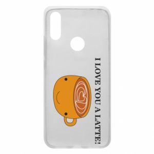 Etui na Xiaomi Redmi 7 I love you a latte