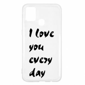 Samsung M31 Case I love you every day