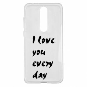 Nokia 5.1 Plus Case I love you every day