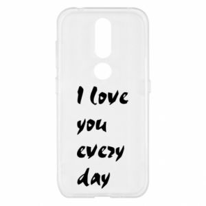 Nokia 4.2 Case I love you every day