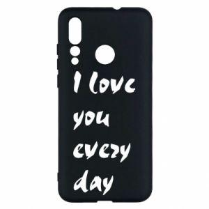 Huawei Nova 4 Case I love you every day