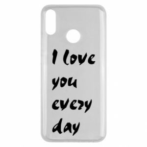 Huawei Y9 2019 Case I love you every day